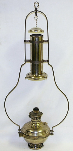 Aladdin model 5 hanging lamp