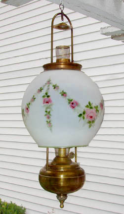 Aladdin model 6 hanging lamp