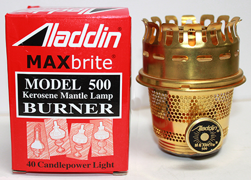 Aladdin MAXbrite model 500 burner