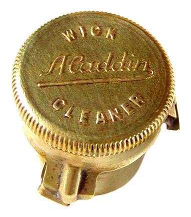 Aladdin Lamp wick cleaner