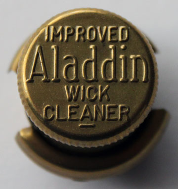 Aladdin model C wick cleaner