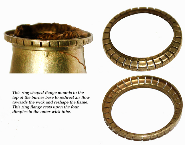 Aida burner flange ring