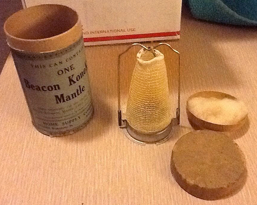 Beacon mantle and box