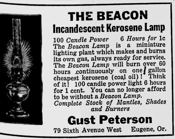Beacon lamp ad