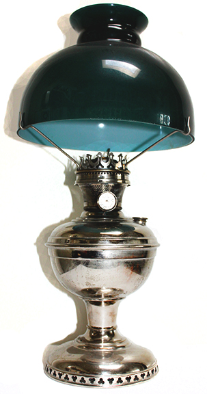 Bright As Day Sears lamp with shade