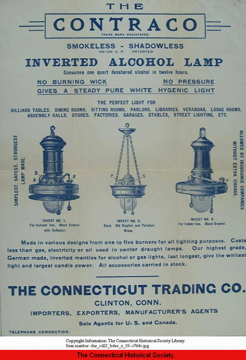 CONTRACO Alcohol lamps