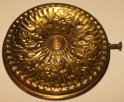 Drip plate for fount lamp