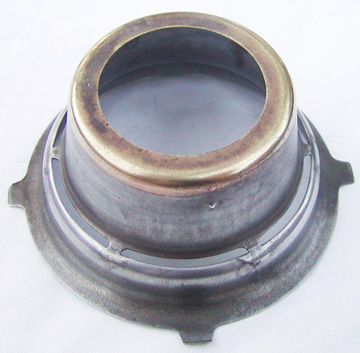 Fromor burner cone top view