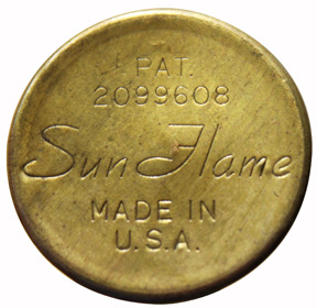 Sun Flame wick adjuster knob